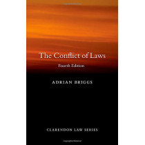 The Conflict of Laws by Adrian Briggs, 9780198845232