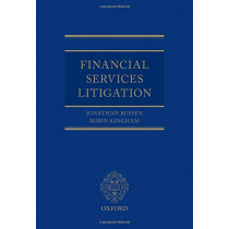 Financial Services Litigation by HHJ Jonathan Russen QC, 9780198846512