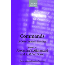 Commands: A Cross-Linguistic Typology by Alexandra Y. Aikhenvald, 9780198852506