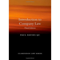 Introduction to Company Law by Paul Davies, 9780198854913