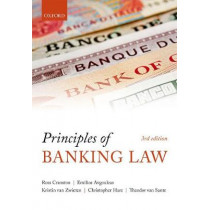 Principles of Banking Law by Ross Cranston, 9780199276080