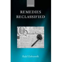Remedies Reclassified by Rafal Zakrzewski, 9780199278756