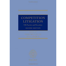 Competition Litigation: UK Practice and Procedure by Mark Brealey, 9780199665075