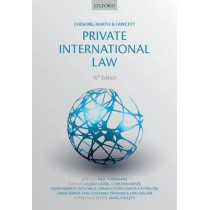 Cheshire, North & Fawcett: Private International Law by Paul Torremans, 9780199678990