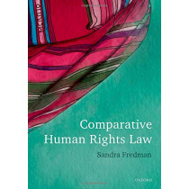 Comparative Human Rights Law by Sandra Fredman, 9780199689415