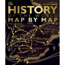 History of the World Map by Map by DK, 9780241226148