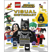 LEGO DC Super Heroes Visual Dictionary: With Exclusive Yellow Lantern Batman Minifigure by Elizabeth Dowsett, 9780241320037