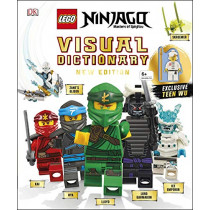 LEGO NINJAGO Visual Dictionary New Edition: With Exclusive Teen Wu Minifigure by Arie Kaplan, 9780241363768