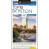 DK Eyewitness Top 10 Boston: 2020 (Travel Guide) by DK Eyewitness, 9780241364789