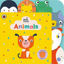 Baby Touch: Animals Tab Book, 9780241379141