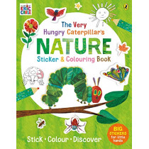 The Very Hungry Caterpillar's Nature Sticker and Colouring Book by Eric Carle, 9780241385791