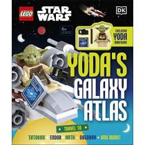 LEGO Star Wars Yoda's Galaxy Atlas by Simon Hugo, 9780241467657