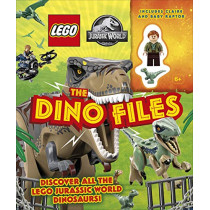 LEGO Jurassic World The Dino Files: with LEGO Jurassic World Claire minifigure and baby raptor! by Catherine Saunders, 9780241469309