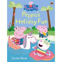 Peppa Pig: Peppa's Holiday Fun Sticker Book by Peppa Pig, 9780241476581
