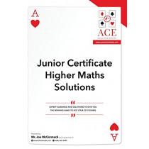 Junior Certificate Higher Maths Solutions 2018/2019 by Joe McCormack, 9780244745691