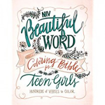 NIV, Beautiful Word Coloring Bible for Teen Girls, Hardcover: Hundreds of Verses to Color by Zondervan, 9780310447221