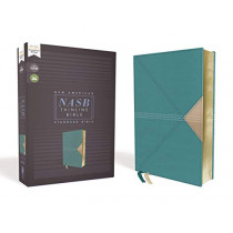 NASB, Thinline Bible, Leathersoft, Teal, Red Letter Edition, 1995 Text, Comfort Print by Zondervan, 9780310450979