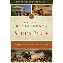 NRSV, Cultural Backgrounds Study Bible, Hardcover, Comfort Print: Bringing to Life the Ancient World of Scripture by Craig S. Keener, 9780310452683