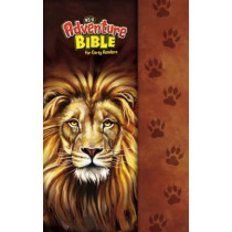 NIrV, Adventure Bible for Early Readers, Hardcover, Full Color, Magnetic Closure, Lion by Zonderkidz, 9780310761396