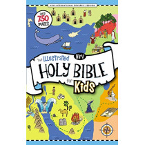 NIrV, The Illustrated Holy Bible for Kids, Hardcover, Full Color, Comfort Print: Over 750 Images by Zonderkidz, 9780310765790