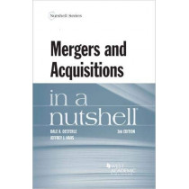 Mergers and Acquisitions in a Nutshell by Dale Oesterle, 9780314280312