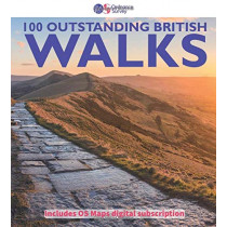 100 Outstanding British walks: 2018, 9780319090862