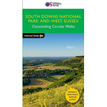 West Sussex & the South Downs Walks: 2019, 9780319091746