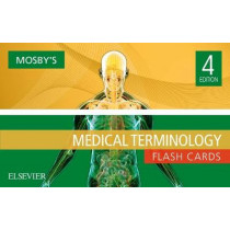Mosby's Medical Terminology Flash Cards by Mosby, 9780323483124
