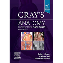 Gray's Anatomy for Students Flash Cards by Richard Drake, 9780323639170