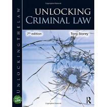 Unlocking Criminal Law by Tony Storey, 9780367244736
