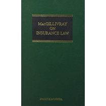 MacGillivray on Insurance Law: Mainwork & Supplement by Professor John Birds, 9780414057630