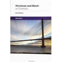 Woolman on Contract by Gillian Black, 9780414061965