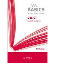 Delict by Gordon Cameron, 9780414064720