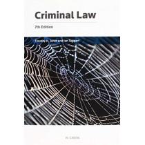 Criminal Law by Professor Timothy H Jones, 9780414065666