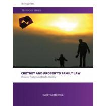 Cretney and Probert's Family Law by Rebecca Probert, 9780414066021