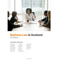 Business Law in Scotland by Gillian Black, 9780414070745