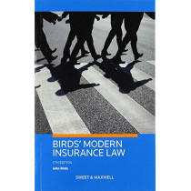 Birds' Modern Insurance Law by Professor John Birds, 9780414071001