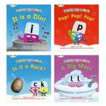 Learn to Read at Home with Alphablocks: Pack 1 (Pack of 4 fiction books) by Joe Elliot, 9780435126858