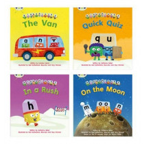 Learn to Read at Home with Alphablocks: Pack 2 (Pack of 4 fiction books) by Catherine Baker, 9780435126865