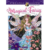 Creative Haven Magical Fairies Coloring Book by Marjorie Sarnat, 9780486824215