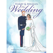 Harry and Meghan The Wedding Paper Dolls by Eileen Miller, 9780486828664