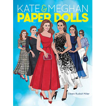Kate and Meghan Paper Dolls by Eileen Rudisill Miller, 9780486834276