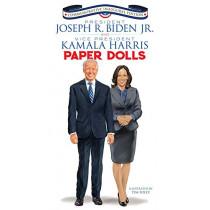 President Joseph R. Biden Jr. and Vice President Kamala Harris Paper Dolls: Commemorative Inaugural Edition by Tim Foley, 9780486848679