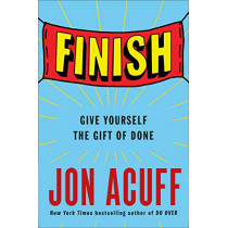 Finish by Jon Acuff, 9780525537311