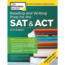 Reading and Writing Prep for the SAT and ACT by Review Princeton, 9780525567547