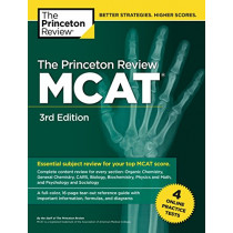Princeton Review MCAT, Volume 1: Content Review and Instruction by Princeton Review, 9780525567813