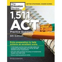 1,471 ACT Practice Questions by Princeton Review, 9780525567905