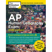Cracking the AP Human Geography Exam, 2020 Edition by Princeton Review, 9780525568278
