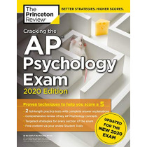 Cracking the AP Psychology Exam, 2020 Edition by Princeton Review, 9780525568339