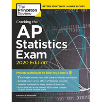 Cracking the AP Statistics Exam, 2020 Edition by Princeton Review, 9780525568353